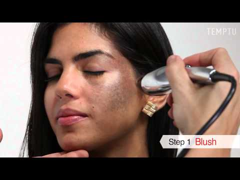 Before and After: Covering Birthmark with TEMPTU AIRbrush Makeup