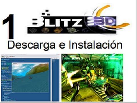 Video 1 - Curso Programación de juegos con  Blitz 3d - Descarga e Instalación