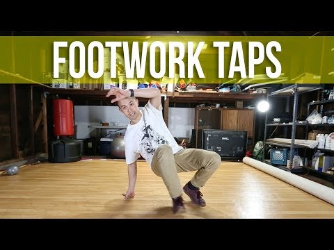 How To Breakdance | Footwork Taps | Footwork Basics thumbnail