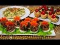 БЫСТРЫЕ и ВКУСНЫЕ закуски на НОВОГОДНИЙ праздничный стол