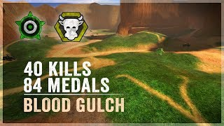 Halo: CE - 40 Kills and 84 Medals on Blood Gulch