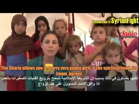 Forced Marriage In Syria - 14 Years Girl Marries 70 Year Old Saudi Sheikh - English Subtitles video