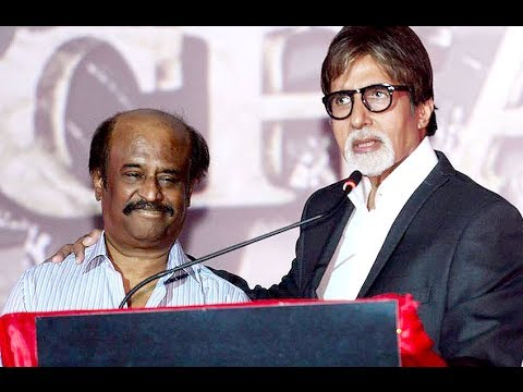 Amitabh Bachchan Praises Rajinikanth | Kochadaiiyaan Curtain Raiser video