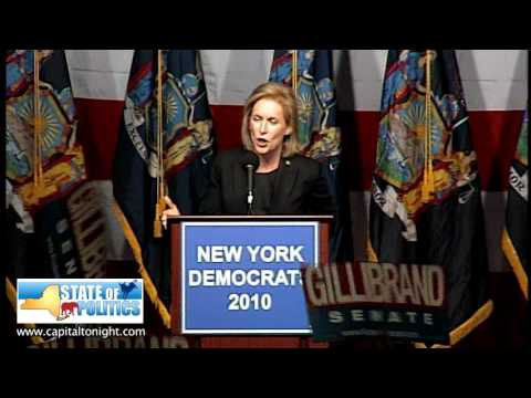 Sen. Kirsten Gillibrand Victory Speech (11/2/2010)
