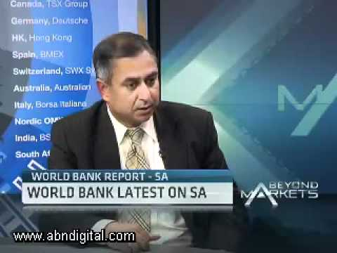 SA Economic Update with Sandeep Mahajan - World Bank