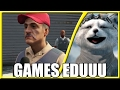 #REACT - 10 Memes Recriados no GTA V #3 (Games EduUu)