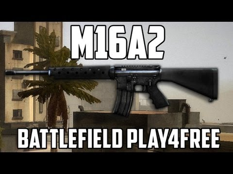 Battlefield Play4free M16A2 Gun Review