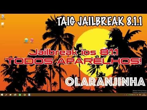 Jailbreak 8.1.1 Untethered Portugues Brasil ! iPhone. iPad e iPods !
