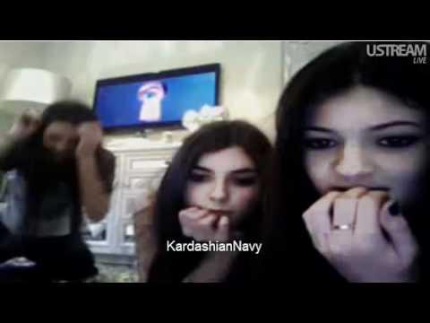Kendall Jenner Ustream on Kendall   Kylie Jenner S Ustream   January 1st  2012