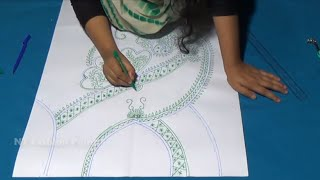 Designed Very Easy to Hand Embroidered Girls Dresses Neck Design | NT Fashion Point