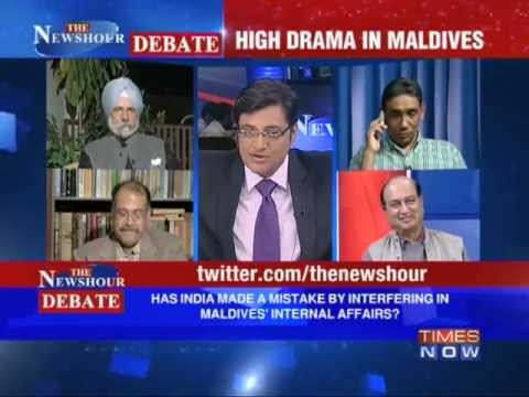 The Newshour Debate: Should India take sides in Maldives Crisis? (Part 2 of 2)