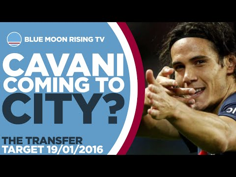 Edinson Cavani to Manchester City? | The Transfer Target