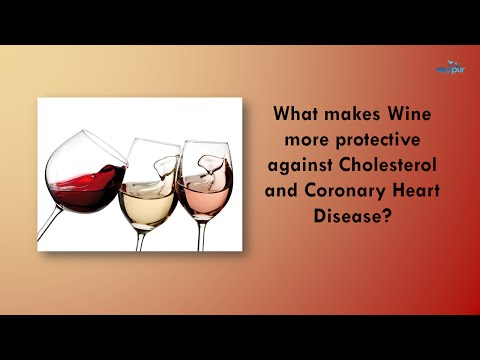 What makes wine more protective against Coronary Heart Disease? |  Red Wine Health Benefits