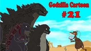 Godzilla vs Shin Godzilla: Giant Cockroach Monster #21   30 Min Compilation Godzilla Cartoons
