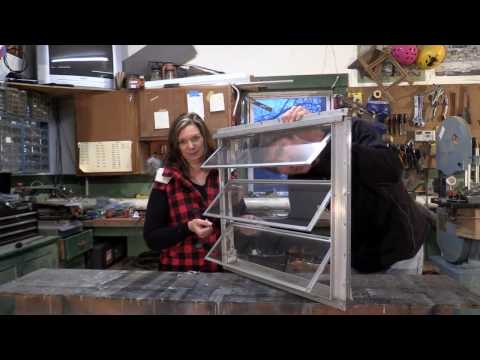 Vintage Camping Trailer_Jalousie Window Rebuild