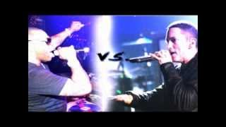 Eminem vs  Busta Rhymes  ( Rap God and Look at Me now )
