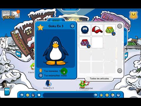 4 Codigos de Club Penguin (Ropa y Monedas) Pin Cerca [HD 720p]