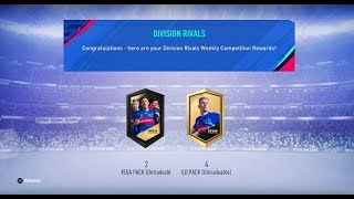 FIFA 19- Ultimate Team: Division Rivals Rewards Part 2/2 #518