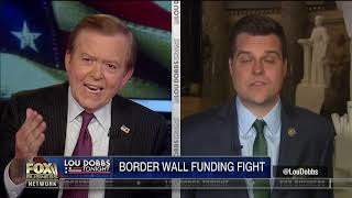 Rep. Gaetz on border wall fight: Trump will need to use emergency funds