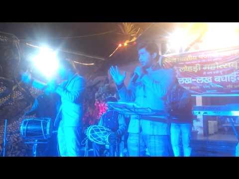 LuvKush live in lohri stage show JUGNI (ARIF LOHAR) & CHALLA