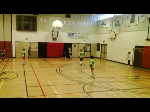 Bob Rathwell Futsal Tournament U14 Boys Final Ottawa Royals Futuro vs OFC WOS Valters