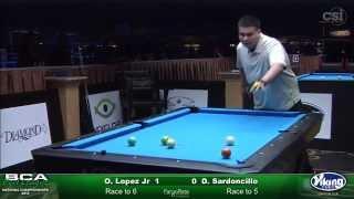 2015 Junior 9-Ball Challenge: Oscar Lopez Jr. vs Daniel Sardoncillo