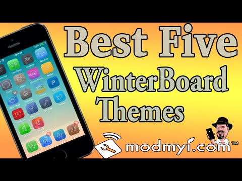 Top Five iOS 7 Winterboard Themes August 2014