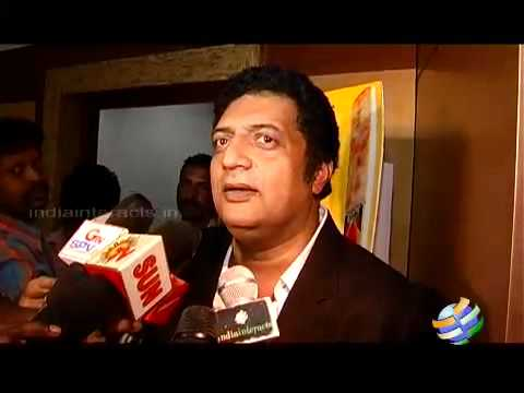 Prakash raj talks about Dhoni