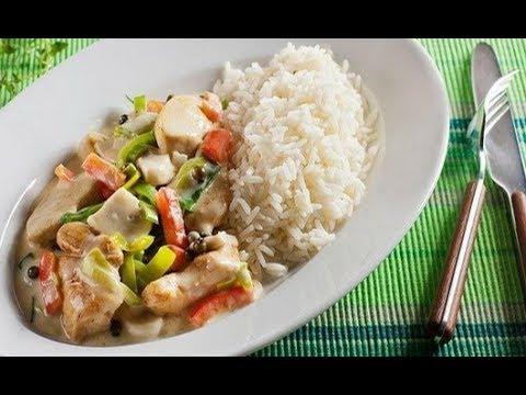 Курица с овощами в сметане на сковороде рецепт 147