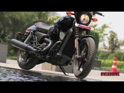 2014 Harley Davidson Street 750 First Ride
