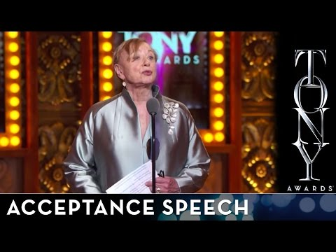 2014 Tony Awards: Acceptance Speech - Jane Greenwood