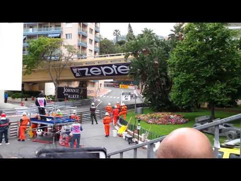 Formula 1 Monaco GP 2015 Grandstand C
