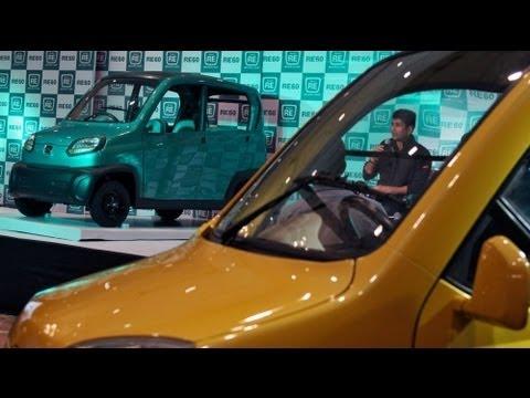Bajaj RE60, el nuevo rival del indio Tata Nano