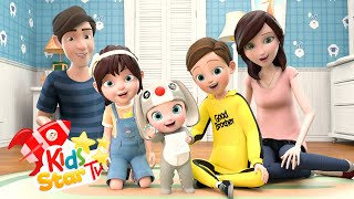 Finger Family Song - Daddy Finger Nursery Rhymes - Kids Star TV