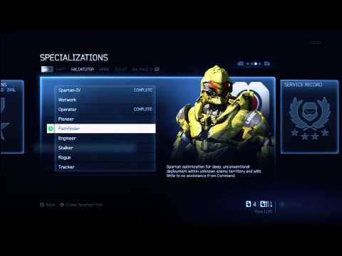 Halo 4 Tips & Tricks | Pathfinder Specialization Details | Unlock Armor & Gunner Tactical Package