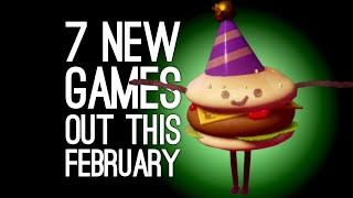 7 New Games Out in February 2020 for PS4, Xbox One, PC, Switch