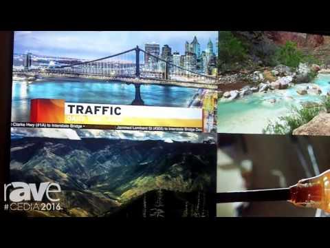 CEDIA 2016: Leyard Planar UltraRes Series 4K Display