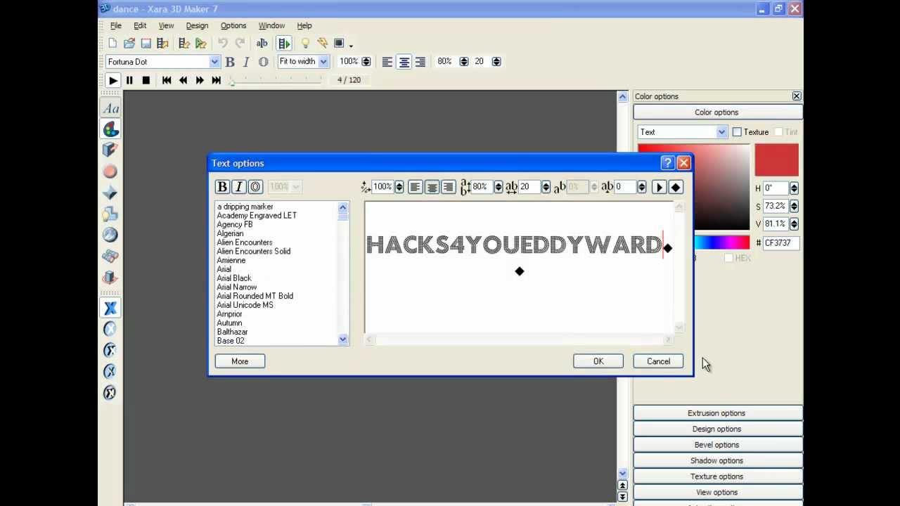 Xara 3d maker 7 free download software reviews downloads news picture
