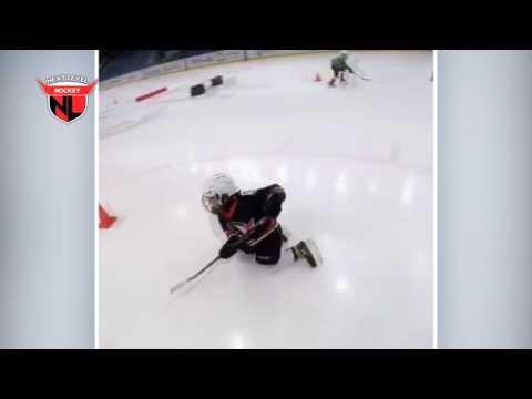 Принцы льда: крутая тренировка восьмилетних хоккеистов