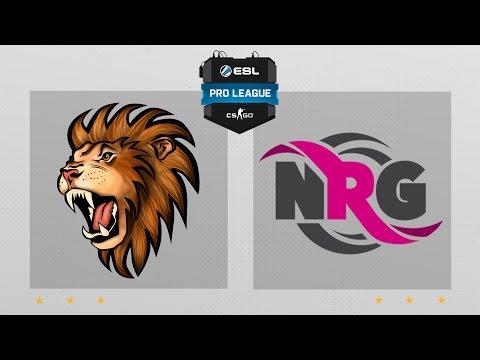 CS:GO - Selfless Vs. NRG [Cbble] Map 2 - ESL Pro League Season 4 - NA Matchday 14
