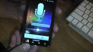 Speak to it assistant review on the Galaxy S II