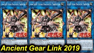 【YGOPRO】ANCIENT GEAR BALLISTIC SHOOTER DECK 2019