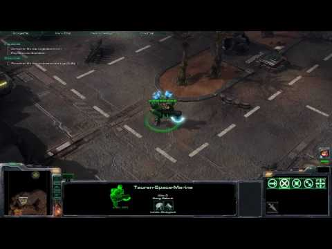 StarCraft 2 Tauren Marine playable (Easter Egg) German Quotes Video
