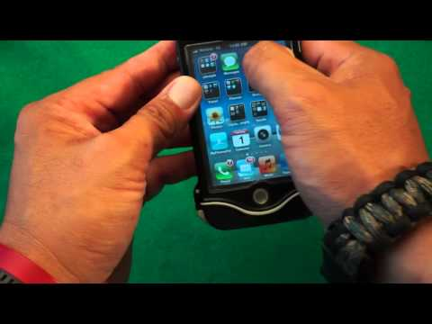 Drisuit Endurance Waterproof Iphone 4/4s case Unboxing