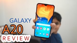 Samsung Galaxy A20 review - Super AMOLED for the price, but पूरा वीडियो देखें