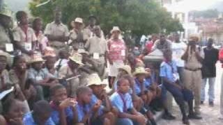 Scouts D Haiti Groupe Mackandal 16e De P Au P John Steve Brunache