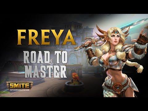 SMITE! Freya, Los ADC magicos no estan nada mal :D! Road To Master Conquest S5 #5