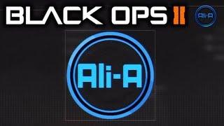 Call of Duty: Black Ops 2 - Ali-A Emblem Tutorial & [AliA] Tag! - #AliAarmy
