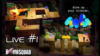 BombSquad || Funny Game || multiplayer || walkthrough gameplay || mobgamo geannie