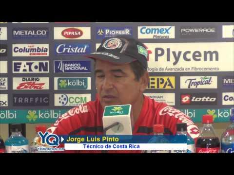 """Pinto contundente: """"Saborío se encuentra bien"""""""